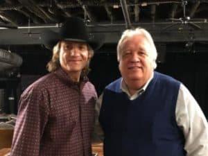 Wade Hayes and Sam Houston