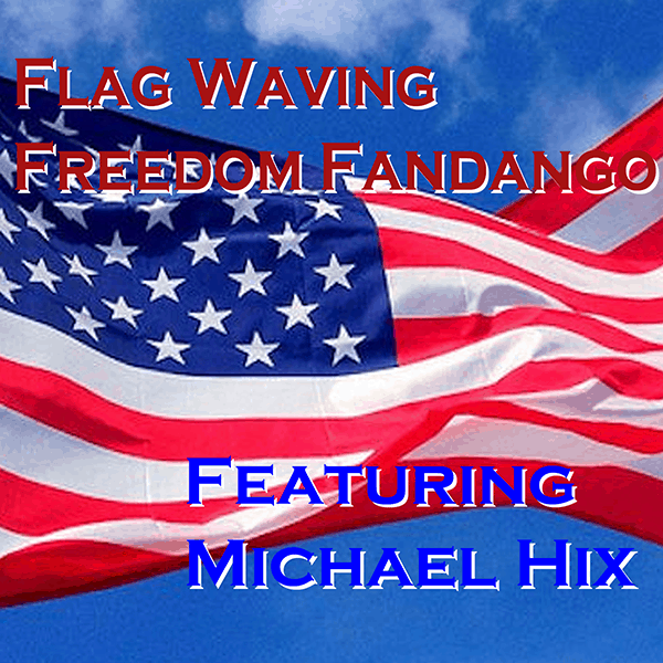 Flag Waving Freedom Fandango Nwes paper size